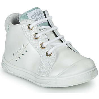 Chaussures Fille Baskets montantes GBB AGAPE Blanc