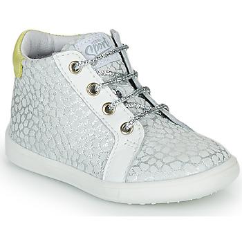 Chaussures Fille Baskets montantes GBB FAMIA Argenté
