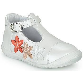 Chaussures Fille Ballerines / babies GBB AGATTA Blanc