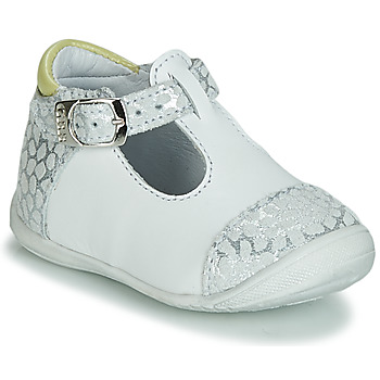 Chaussures Fille Ballerines / babies GBB MERTONE Blanc