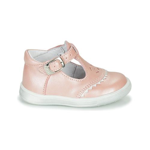 Gbb Agenor Rose - Livraison Gratuite- Chaussures Ballerines Enfant 5900