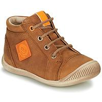 Chaussures Garçon Baskets montantes GBB TARAVI Marron