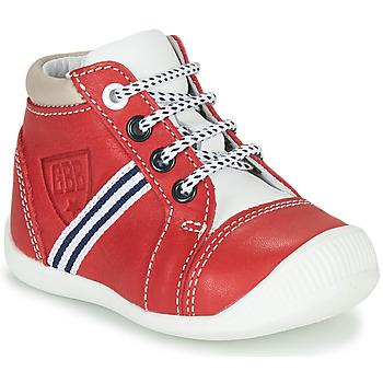 Chaussures Garçon Baskets montantes GBB GABRI Rouge