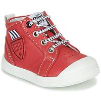 Chaussures Garçon Baskets montantes GBB GREGOR Rouge