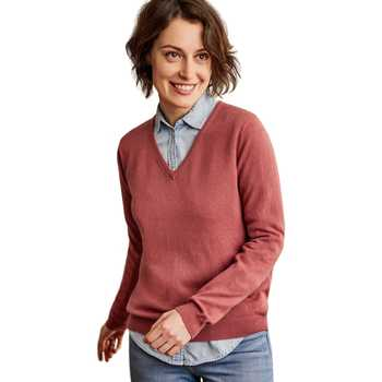 Vêtements Femme Pulls Woolovers Pull à col V Femme Cachemire rose