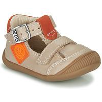 Chaussures Garçon Baskets montantes GBB BOLINA Beige