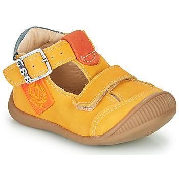 Chaussures Garçon Baskets montantes GBB BOLINA Orange