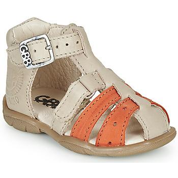 Chaussures Garçon Sandales et Nu-pieds GBB BORETTI Beige / Orange
