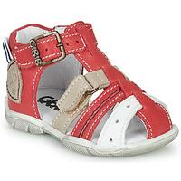 Chaussures Garçon Sandales et Nu-pieds GBB BYZANTE Rouge