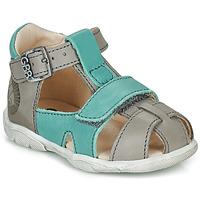 Chaussures Garçon Sandales et Nu-pieds GBB SEROLO Gris / Bleu