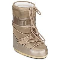 Chaussures Femme Bottes de neige Moon Boot MOON BOOT GLANCE Platine