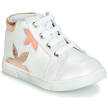 Chaussures Fille Baskets montantes GBB ALEXA Blanc