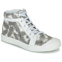 Chaussures Fille Baskets montantes GBB NAVETTE Noir / Blanc