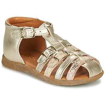 Chaussures Fille Sandales et Nu-pieds GBB PERLE Doré