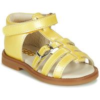 Chaussures Fille Sandales et Nu-pieds GBB ANTIGA Jaune