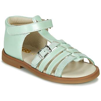Chaussures Fille Sandales et Nu-pieds GBB ANTIGA Vert