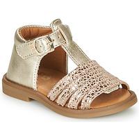 Chaussures Fille Sandales et Nu-pieds GBB ATECA Doré