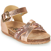 Chaussures Fille Sandales et Nu-pieds GBB ALECTA Rose gold