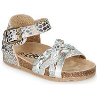 Chaussures Fille Sandales et Nu-pieds GBB ALECTA Argenté