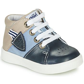Chaussures Garçon Baskets montantes GBB AMOS Bleu