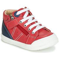 Chaussures Garçon Baskets montantes GBB ANATOLE Rouge