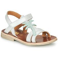 Chaussures Fille Sandales et Nu-pieds GBB SAPELA Blanc