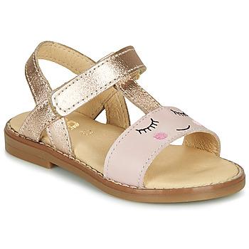 Chaussures Fille Sandales et Nu-pieds GBB NAZETTE Rose