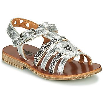 Chaussures Fille Sandales et Nu-pieds GBB FANNI Argenté