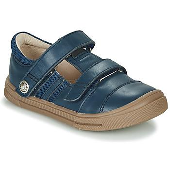 Chaussures Garçon Baskets basses GBB MANUK Bleu