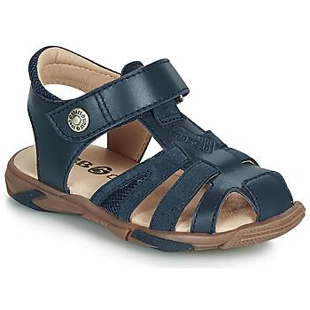 Chaussures Garçon Sandales et Nu-pieds GBB LUCA Bleu