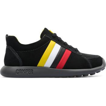 Chaussures Enfant Baskets basses Camper Baskets cuir TWS noir