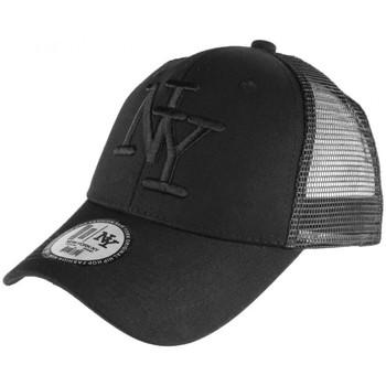 Accessoires textile Casquettes Hip Hop Honour Casquette filet NY Noir Fashion Trucker Gybz Noir