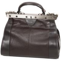 Sacs Femme Sacs porté main Katana Sac Diligence Cuir De Vachette 83250 - Taille S Chocolat