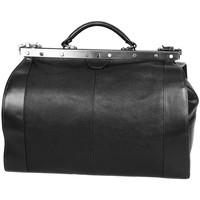 Sacs Femme Sacs porté main Katana Sac Diligence Cuir de Vachette 83252 - Taille L Noir
