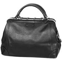 Sacs Femme Sacs porté main Katana Sac Squaremouth Cuir De Vachette 83253 - Taille S Noir