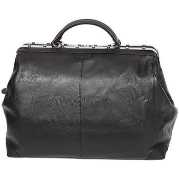 Sacs Femme Sacs porté main Katana Sac Squaremouth Cuir De Vachette 83255 - Taille L Noir
