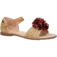 Chaussures Fille Sandales et Nu-pieds Pepe jeans PGS90122 ELSA Marr?n