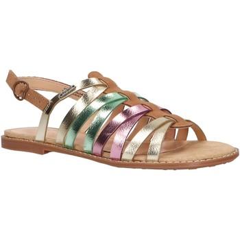 Chaussures Fille Sandales et Nu-pieds Pepe jeans PGS90124 ELSA Marr?n