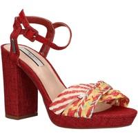 Chaussures Femme Espadrilles Pepe jeans PLS90399 NIKA 216 SALSA Rojo