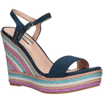 Chaussures Femme Espadrilles Pepe jeans PLS90378 OHARA 570 POP BLUE Azul