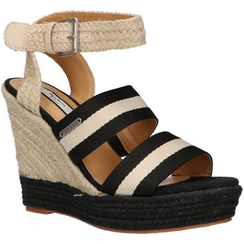 Chaussures Femme Espadrilles Pepe jeans PLS90380 OHARA Negro
