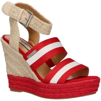 Chaussures Femme Espadrilles Pepe jeans PLS90380 OHARA Rojo