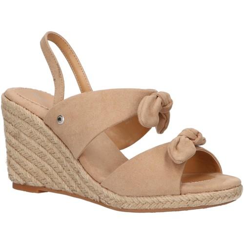 Chaussures Femme Espadrilles Pepe jeans PLS90383 SHARK Beige