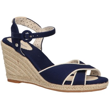 Chaussures Femme Espadrilles Pepe jeans PLS90404 SHARK 585 MARINE Azul