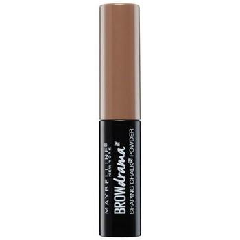 Beauté Femme Maquillage Sourcils Gemey Maybelline Poudre à sourcils Brun moyen   1,0g Autres