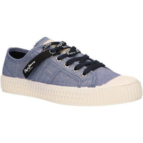 Chaussures Femme Baskets basses Pepe jeans PLS30879 IN-G Azul