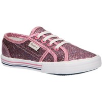Chaussures Fille Baskets basses Pepe jeans PGS30396 BAKER Rojo