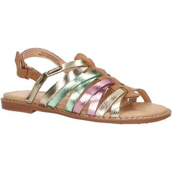 Chaussures Fille Sandales et Nu-pieds Pepe jeans PGS90136 ELSA Marr?n