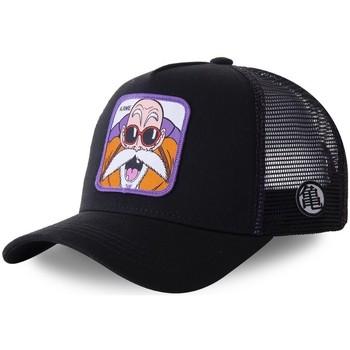 Accessoires textile Homme Casquettes Capslab Casquette Dragon Ball Z Noir et Violet Noir