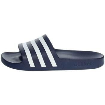 Chaussures Homme Claquettes adidas Originals Adilette Aqua Slides Bleu marine